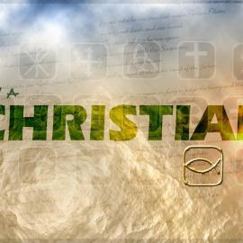 I am a Christian Wallpaper