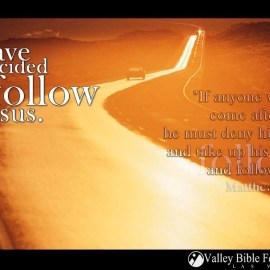 I Follow Jesus Wallpaper