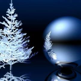Ice tree Wallpaper