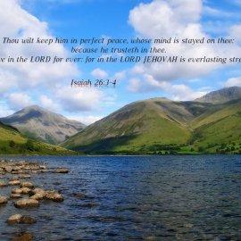 Isaiah 26:3-4 Wallpaper