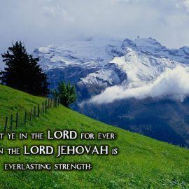 Isaiah 26:4 Wallpaper
