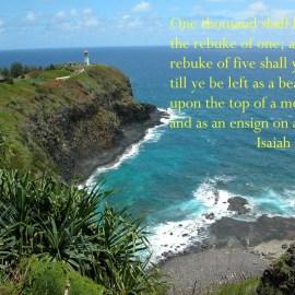 Isaiah 30:17 Wallpaper