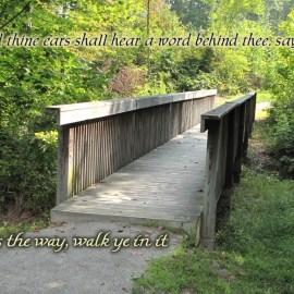 Isaiah 30:21 Wallpaper