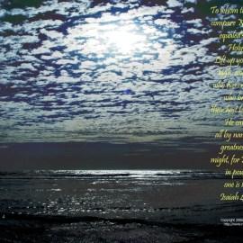 Isaiah 40:25-26 Wallpaper