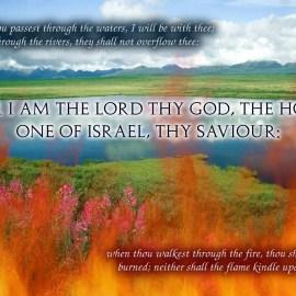 Isaiah 43:2-3a Wallpaper