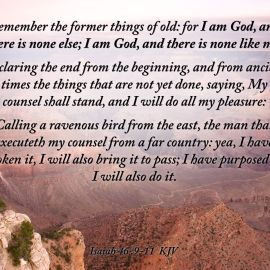 Isaiah 46:9-11 Wallpaper
