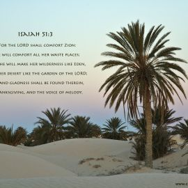 Isaiah 51:3 Wallpaper