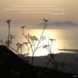Isaiah 51:5 Wallpaper