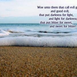 Isaiah 5:20 Wallpaper