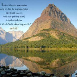 Isaiah 52:7 Wallpaper