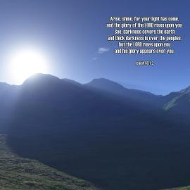 Isaiah 60:1-2 Wallpaper
