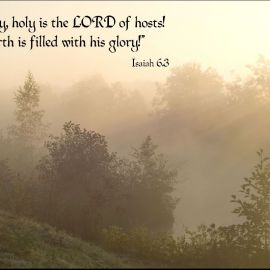 Isaiah 6:3 Wallpaper