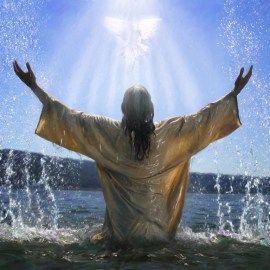 Jesus Baptism (2) Wallpaper