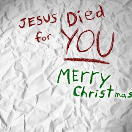 Jesus Died 4 You Wallpaper