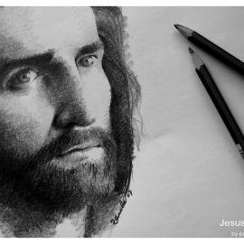 Jesus Draw Wallpaper