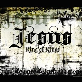 Jesus, king of kings Wallpaper