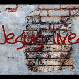 Jesus lives Wallpaper