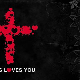 Jesus loves you [1] Wallpaper