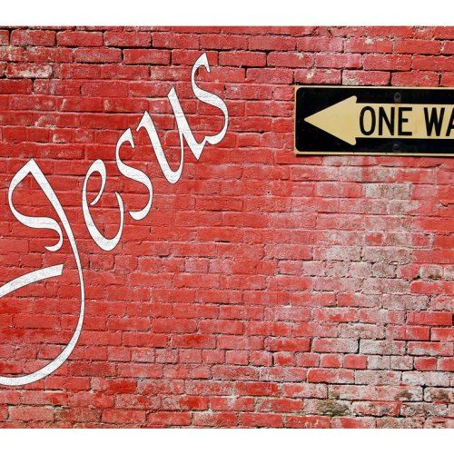 Jesus: one way christian wallpaper free download. Use on PC, Mac, Android, iPhone or any device you like.