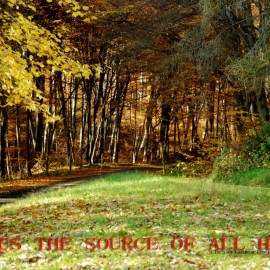 jeus the source of all hope Wallpaper