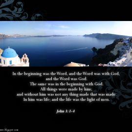 John 1:1-4 Wallpaper