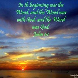 John 1:1 Wallpaper