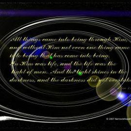 John 1:3-5 Wallpaper