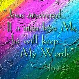 John 14:23 Wallpaper