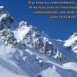 John 15:10 Wallpaper