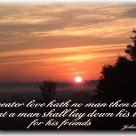 John 15:13 Wallpaper