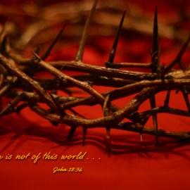 John 18:36 Wallpaper