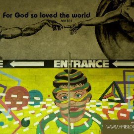 John 3:16a Wallpaper