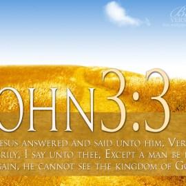 John 3:3 Wallpaper