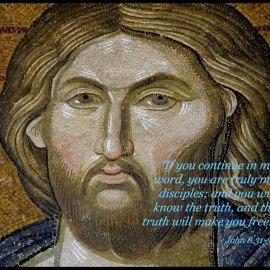 John 8:31-32 Wallpaper