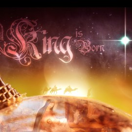 King is Born Wallpaper