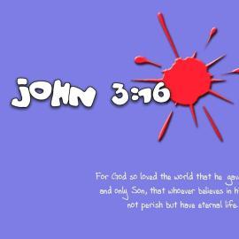 Life – John 3:16 Wallpaper