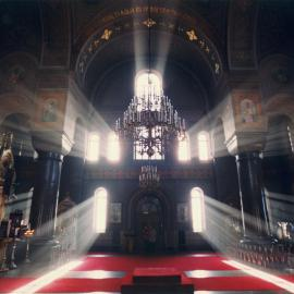 Light in Church Wallpaper