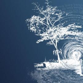 Light tree Wallpaper