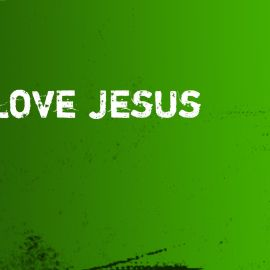 Love Jesus Wallpaper