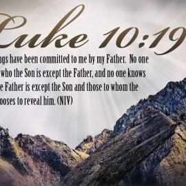 Luke 10:19 Wallpaper