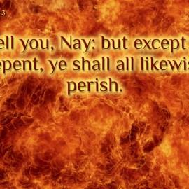 Luke 13:3 Wallpaper