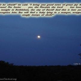 Luke 2:10-12 Wallpaper