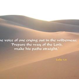 Luke 3:4 Wallpaper