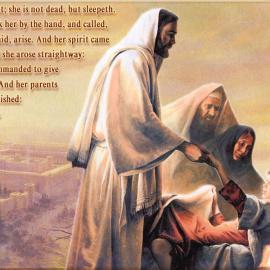 Luke 8:52-56 Wallpaper