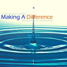 Making a difference Wallpaper