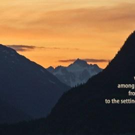 Malachi 1:11 Wallpaper