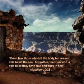 Matthew 10:28 Wallpaper