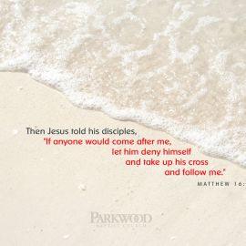 Matthew 16:24 Wallpaper