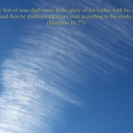Matthew 16:27 Wallpaper