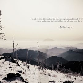 Matthew 18:2-5 Wallpaper